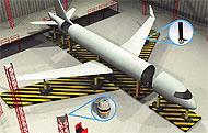 Стыковка крыла с использованием IndoorGPS